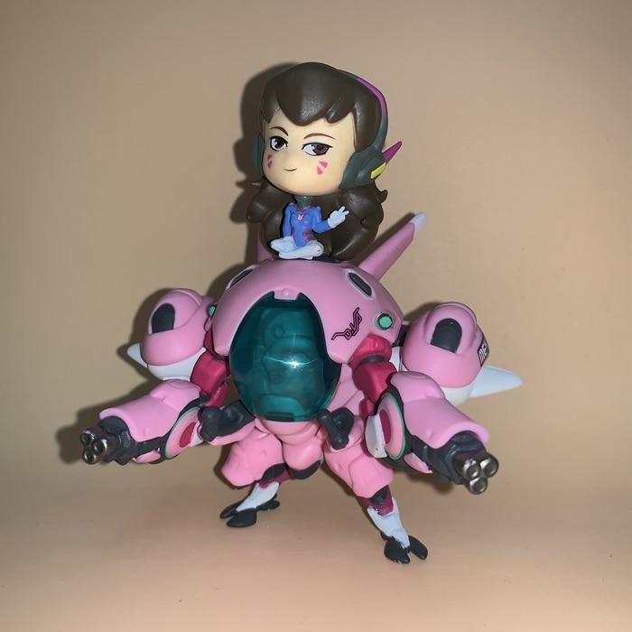 13cm Overwatch Dva D.Va Action Figure Toys Game Doll Gift 3