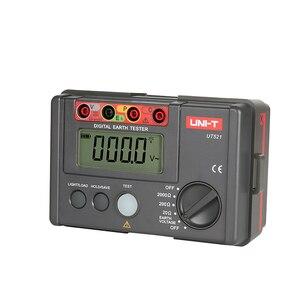 Image 2 - UNI T UT521 LCD Testeur de Résistance À La Terre Numérique Affichage Basse Tension 0 200V 0 2000 ohm Terre Résistance Tension Dessai De Compteur