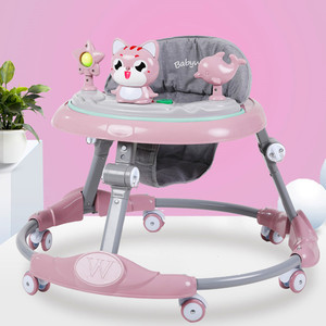 Baby walker multi-function  rollover boy baby girl small child starter learn to drive