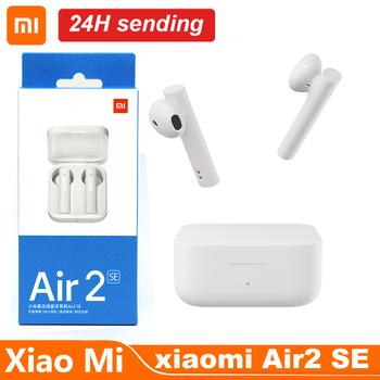 Oryginalny Xiaomi Air2 SE bezprzewodowe słuchawki Bluetooth TWS AirDots Pro 2SE Mi prawdziwe bezprzewodowe słuchawki długi tryb gotowości sterowanie dotykowe tanie i dobre opinie Tłok douszne Ortodynamiczna CN (pochodzenie) Prawdziwie bezprzewodowe Do kafejki internetowej Słuchawki do monitora Do gier wideo