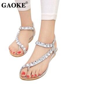 Женские сандалии-вьетнамки на ремешке; Дизайнерские женские сандалии-гладиаторы с эластичным ремешком; Zapatos Mujer; Летние сандалии
