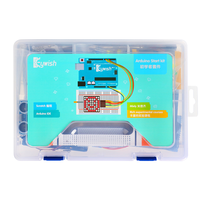 Arduino Starter Kit With 30 Courses LCD Tutorial For Arduino UNO R3 5