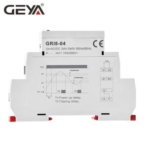 Image 3 - GEYA GRI8 04 과전류 및 과전류 모니터 0.05A 1A 2A 5A 8A 16A 전류 모니터링 릴레이
