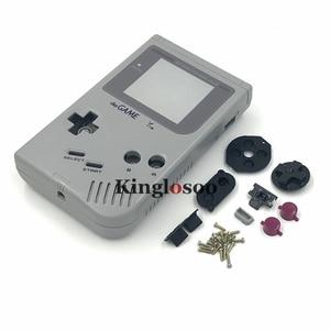 Image 3 - Remplacement complet du boîtier de protection de la coque pour Console Gameboy Classic GB GBO DMG 01 avec bouton en caoutchouc