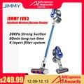Оригинальный JIMMY JV83 2 в 1 Многофункциональный ручной легкие беспроводные Пылесосы 20KPa мощный пылесборник для автомобиля