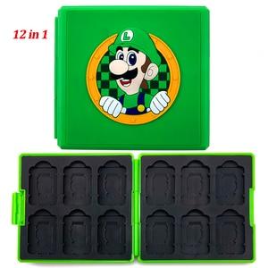 Аксессуары для Nintendo Switch, портативный чехол для игровых карт, ударопрочный жесткий чехол для хранения Nintendo Switch NS Games