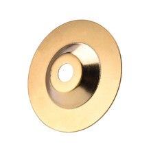 PW TOOLS – disques de polissage en titane, 100mm, or, diamant, disque de polissage, meuleuse d'angle, outil rotatif, meulage de la pierre et du verre