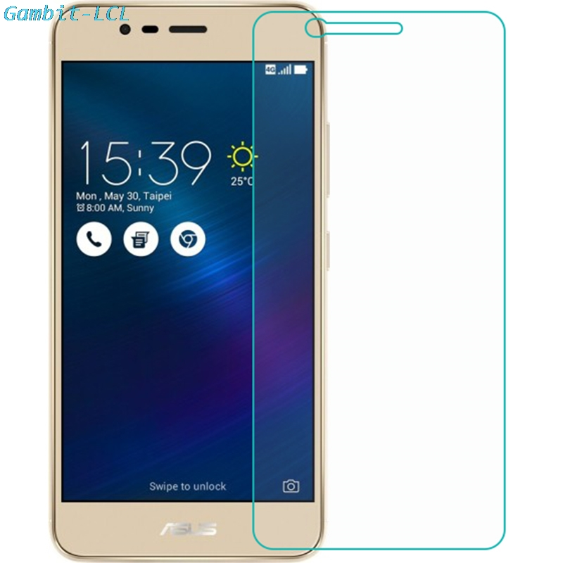 Tempered <font><b>Glass</b></font> for <font><b>ASUS</b></font> <font><b>Zenfone</b></font> 3 Max ZC520TL Screen Protector 9H 2.5D Phone Protective Screen Protector for <font><b>X008D</b></font> cover image