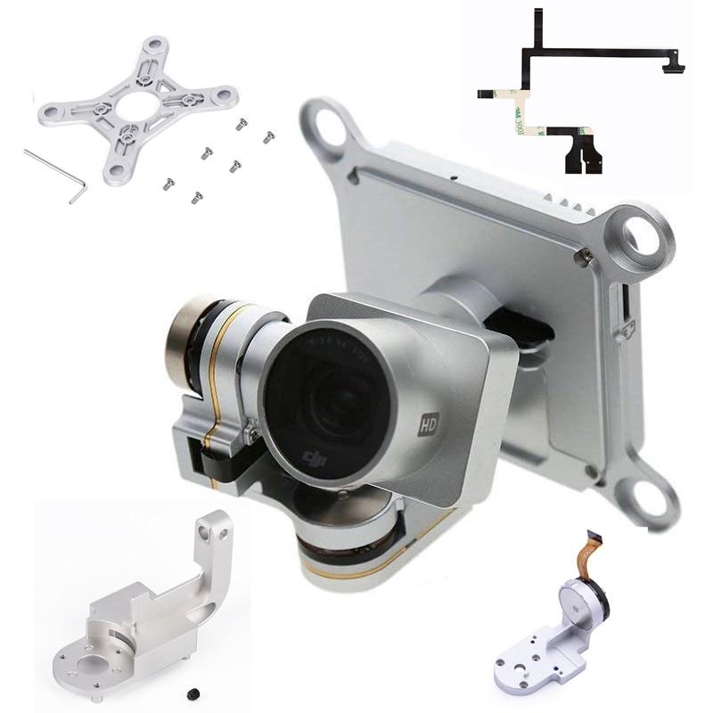 Repair Parts for DJI Phantom 3 Advanced Professional Drone Camera Yaw Arm Roll Bracket Flat Ribbon Cable Flex Gimbal Mount Motor(China)