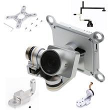 の修理部品djiファントム 3 高度なプロドローンカメラヨーアームロールブラケットフラットリボンケーブルフレックスジンバルマウントモーター