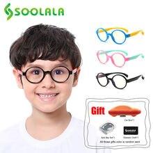 Soolala 2 шт круглый синий светильник блокирующий детские очки