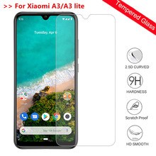 9H Tempered Glass For Xiaomi A3 Mi a3 screen protector glass film on xiomi a3 lite Mi A3 lite light protective glass n11p gv2h a3
