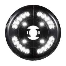 Зонт светильник Вес Портативный Кемпинг Палатка лампа с 3 ing