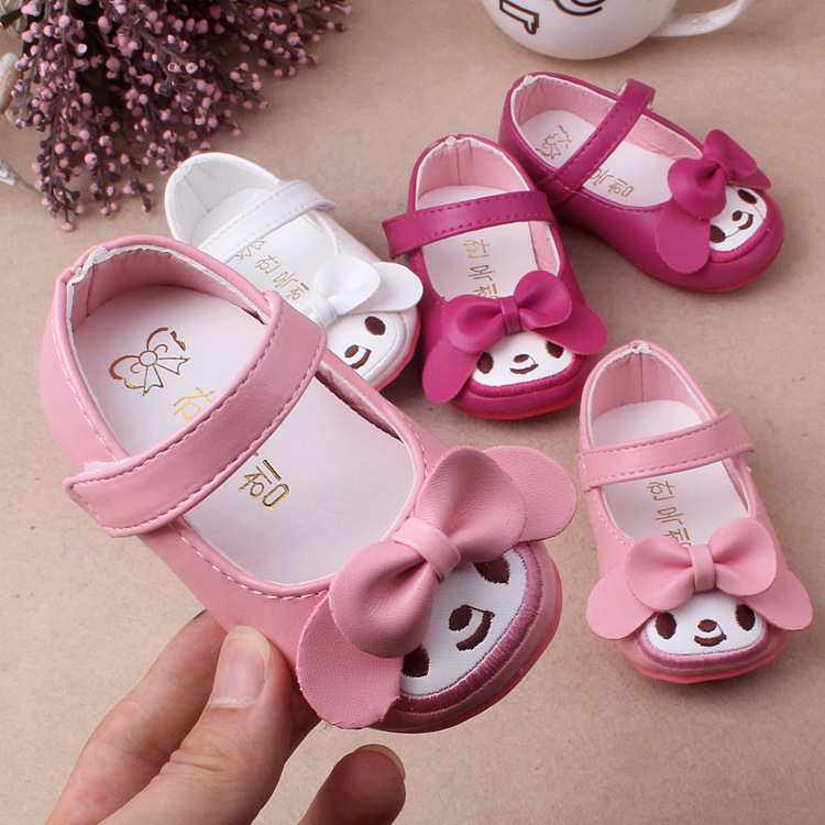 2020 Spring And Autumn New Children Shoes Korean Girls Princess Single Shoes Comfortable Children Baby SShoes Toddler Shoes