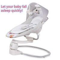 Baby rocking chair baby electric cradle rocking chair Baby Smart Cradle to appease the baby artifact shaker fast to sleepcrib