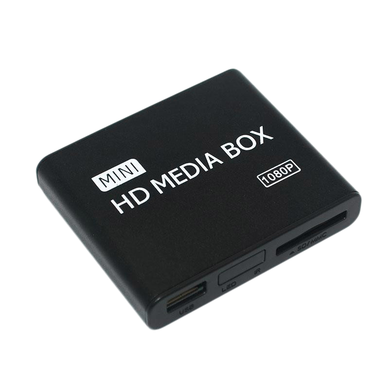Mini Full HD 1080P Media Player for TV Multi Media Video Player External HDD Media Player
