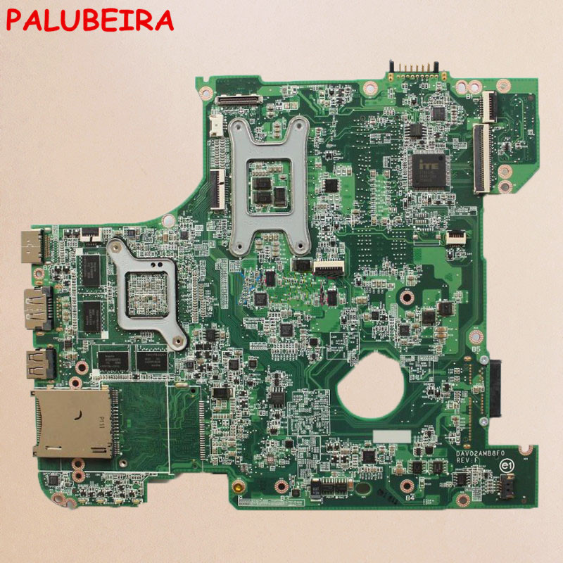 PALUBEIRA материнская плата для ноутбука Dell inspiron 14R N4110 DAV02AMB8F1 CN-00FR3M 00FR3M Материнская плата ноутбука HM67 HD6630M