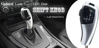 LED Gear Shift Knob Shifter Lever For BMW E39 E53 E46 E60 E61 E63 E90 E92 E93 E81 E82 E83 E87 X3 Automatic Accessories