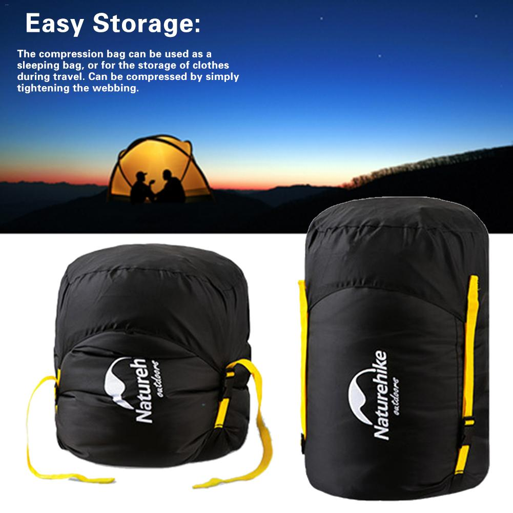 Outdoor Waterproof Compression Stuff Sack Convenient Lightweight Sleeping Bag Storage Package For Camping Travel Drift Hiking