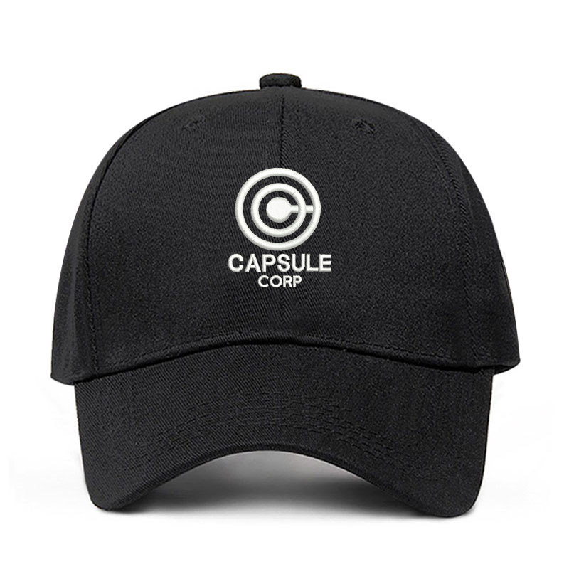 Capsule Corp. Dragon Ball Dad Hat Anime Song 100% Cotton Embroidery Snapback Hats Unisex Baseball Caps Men Women Holiday Dropshipping