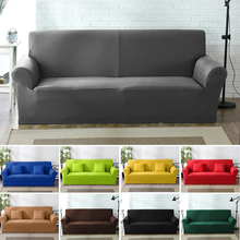 High Grade Cover For Sofa Furniture Armchair Modern Living Room Sofa Cover Stretch Elastic Couch Slipcover Cotton 1/2/3/4 Seater european style 3 2 1 seater fabric armchair sofa set living room furniture for factory direct sale price have two model