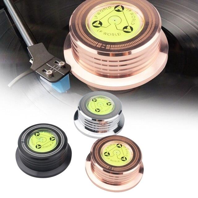 Evrensel 60Hz LP vinil plak çalar disk pikap sabitleyici ağırlığı kelepçe Q81F