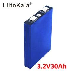 LiFePo4 3.2V 30AH 5C batterie lithium bateria pour bricolage 12V lifepo4 e-bike e scooter roue chaise AGV voiture Golf chariots