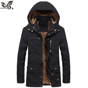 new Military Thick Warm man Jacket Winte