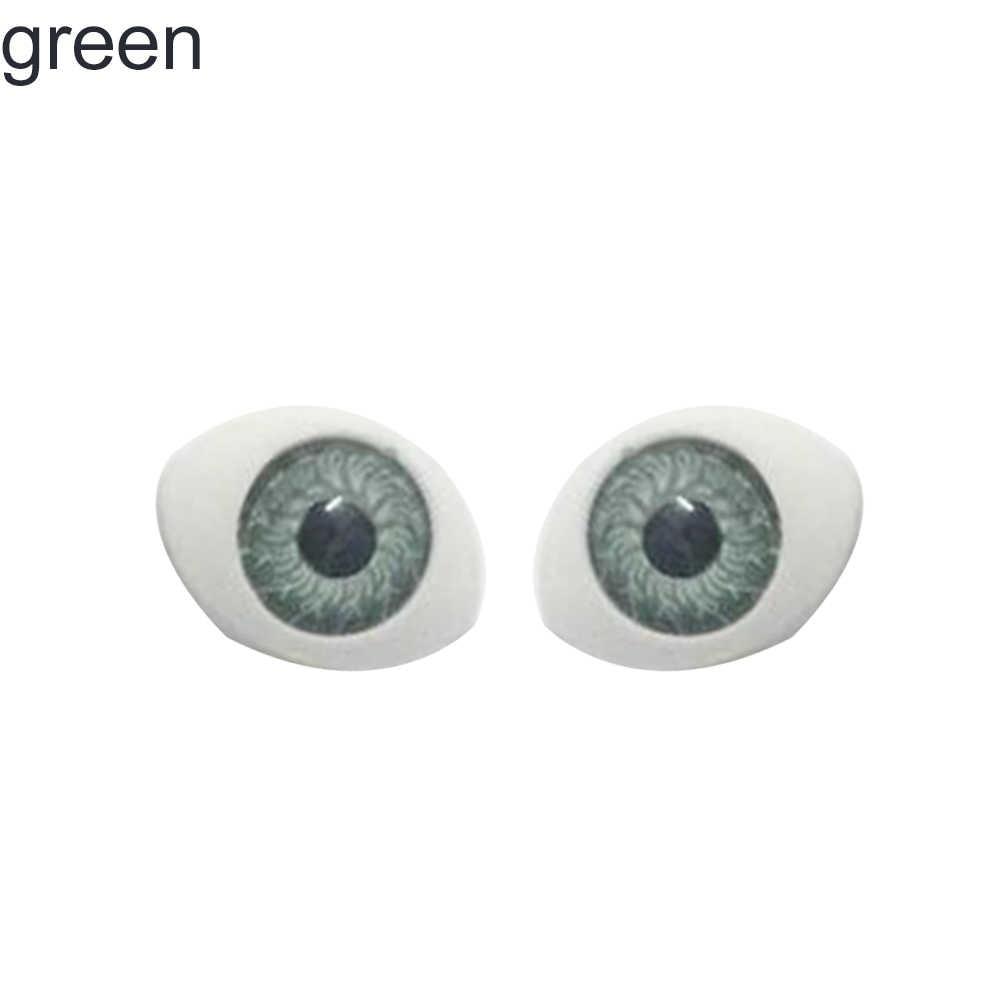 Ojos de muñeca de colores DIY artesanía ojos falsos para Reborn hacer accesorio de casa de muñecas nuevo