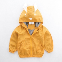 Children Clothing Hooded Jackets For Baby Boys Coat Rabbit E
