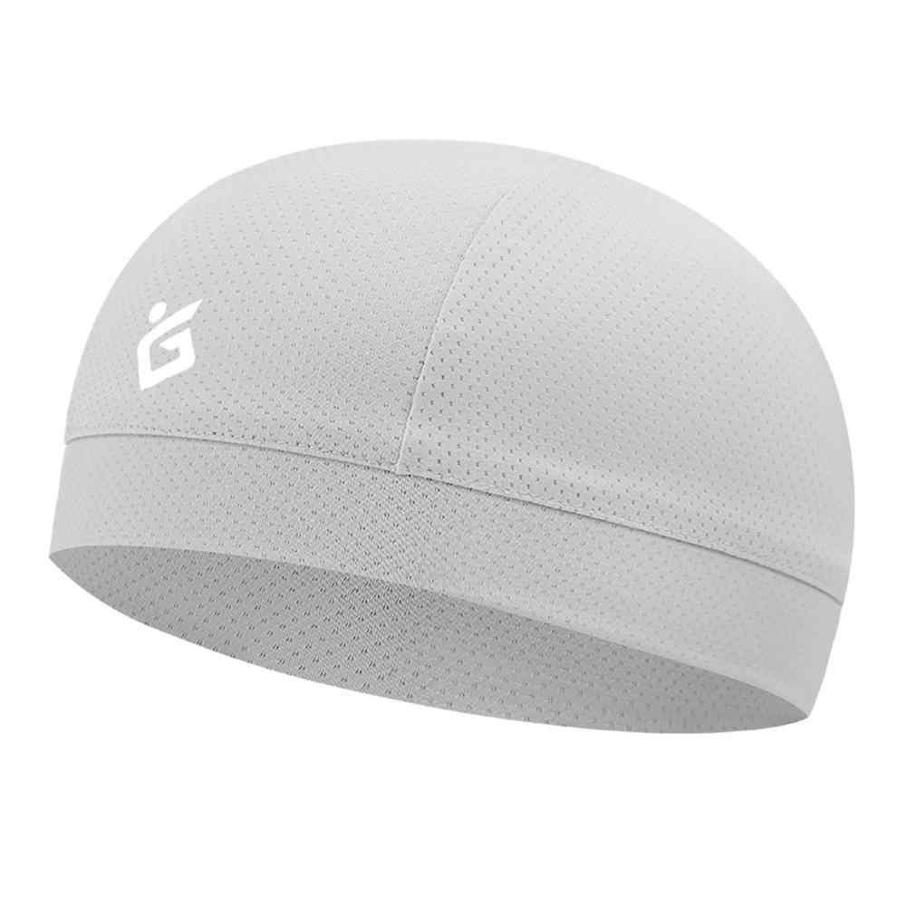 Czapka z czaszkami chłodzącymi oddychająca letnia czapka rowerowa tkanina lodowa anty-uv szalik na głowę rowerowa kask wkładka sportowa czapka do biegania