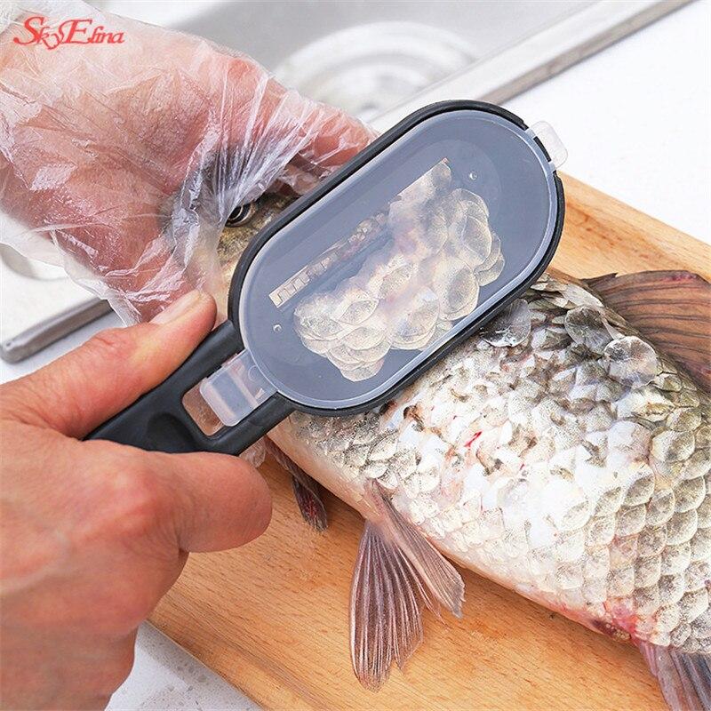 Sky Elina lid scraping scales Многофункциональный кухонный инструмент из нержавеющей стали кухонные принадлежности удобный и простой 8zcf415