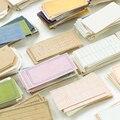 Yoofun 225 Blätter/Box Karte Sammlung Serie Hinweis Memo Pad Grundlage Einfache Schreibwaren Notes Tragbare Notepad Schule Büro Liefert