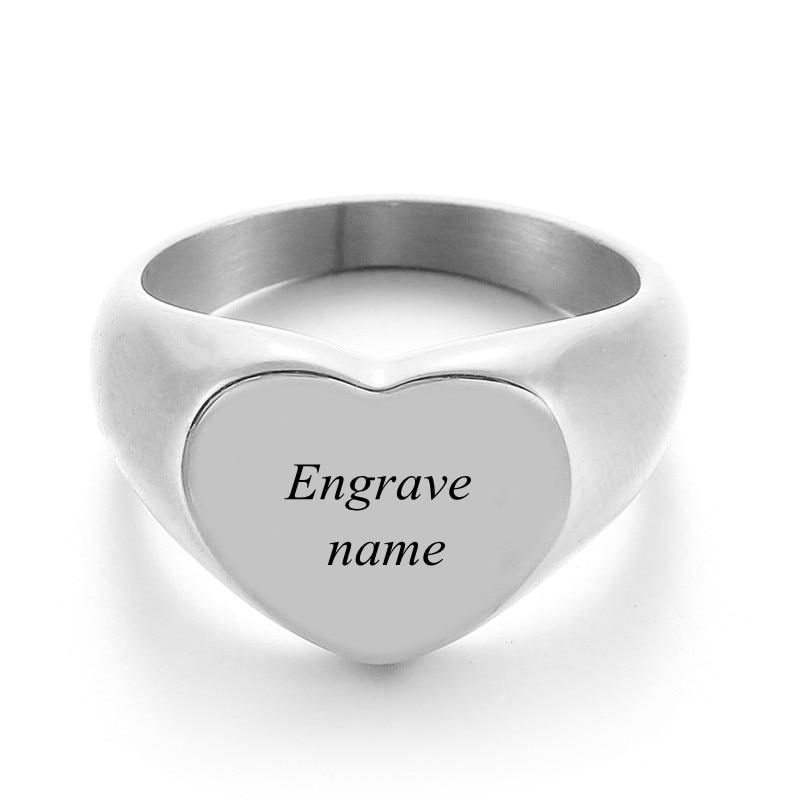 Engrave Text Silver