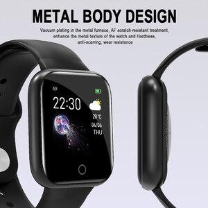 Image 2 - Новые смарт часы K6 IP67 водонепроницаемые Модные Спортивные Смарт часы с пульсометром спортивные напоминания Bluetooth Смарт браслет