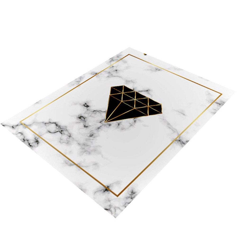 Tapis de zone marbre doré lignes géométriques marbré décor à la maison tapis de sol tapis MYDING