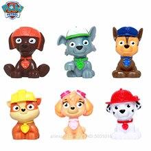 Paw patrol Dog team full set of cartoon doll ornaments Want childrens toy model