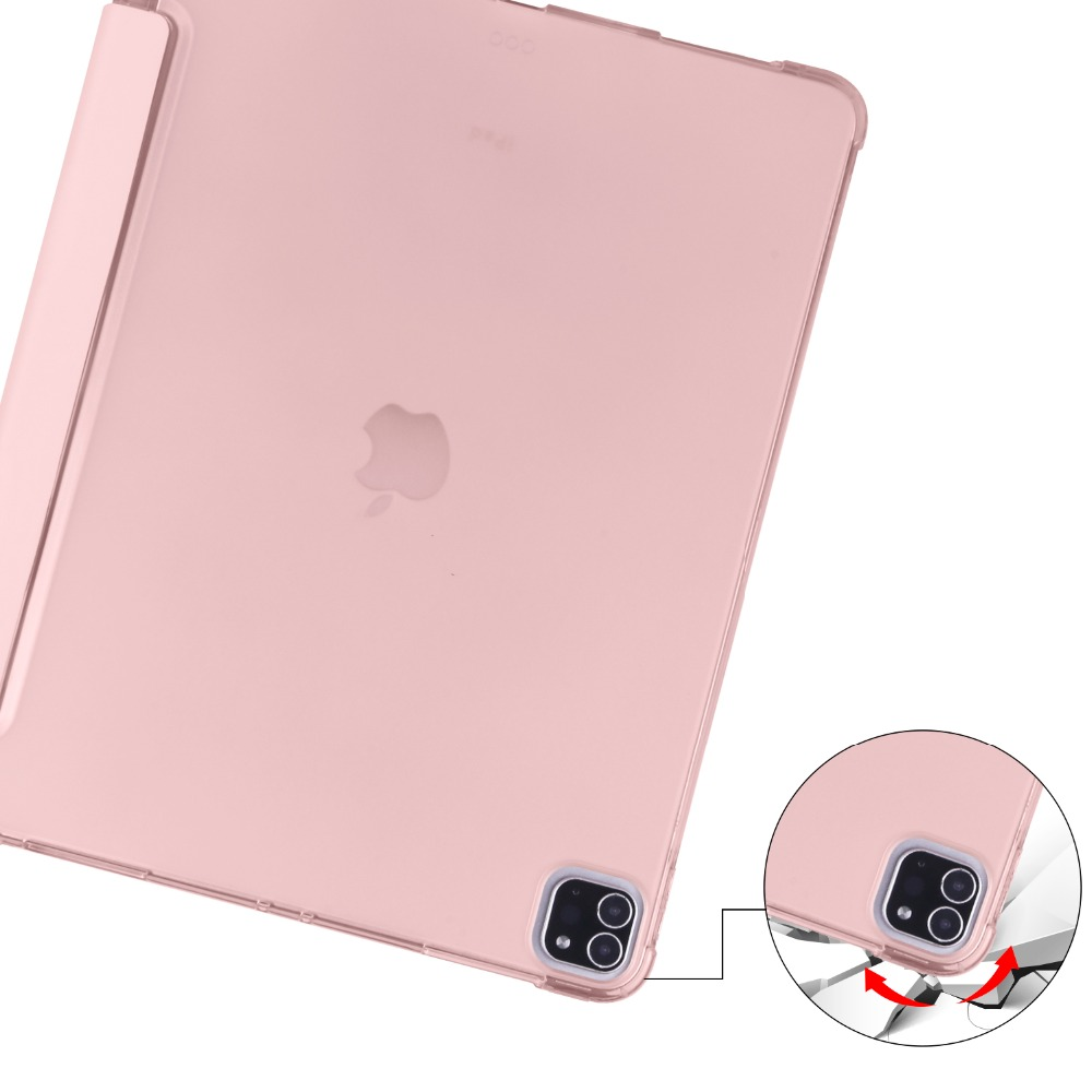 Holder Pro 9 iPad TPU For Case iPad Soft Pencil 2018 Cover 12 Shell 2020 for Apple with