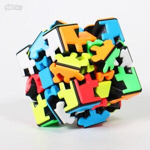 Image 2 - Yumo 3 × 3 ギアパズルツイストキューブ 3 × 3 × 3 ギア 3*3*3 プロゲームおもちゃ奇妙な形状