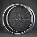Выбранные 7187 супер легкие ступицы 700C High End 60 мм дорожные карбоновые велосипедные колёса прямые тяги