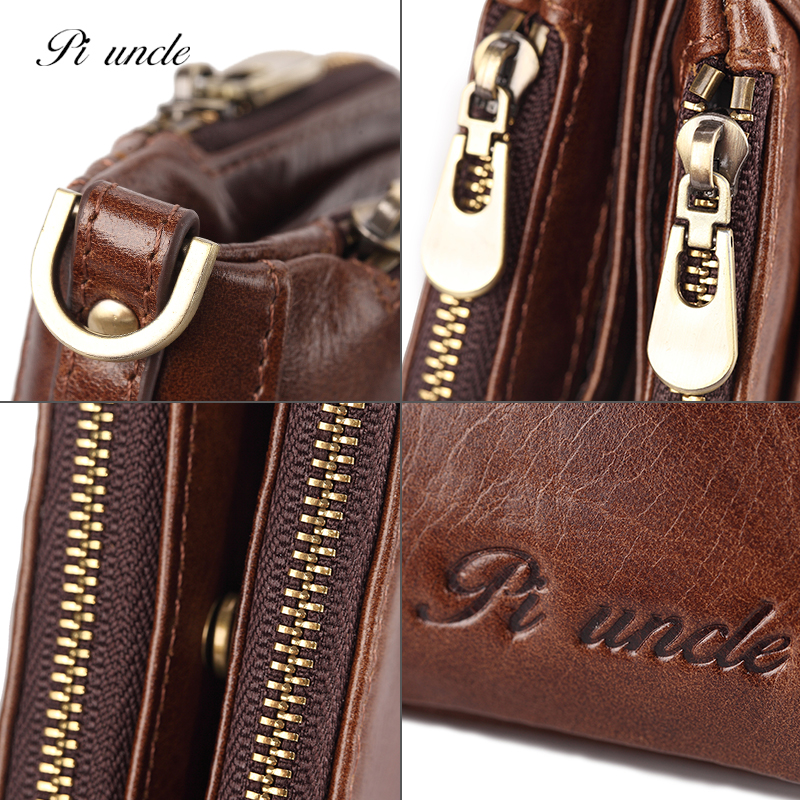 Slim Retro Leather Wallet Men Long Clutch Fashion Purse High Capacity Designs