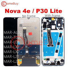 Comebuy LCD For Huawei P30 Lite Display Touch Screen With Frame For Huawei Nova 4e P30 Lite Display Screen MAR LX1M MAR LX2
