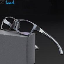 Zilead tr90 анти синий светильник очки для чтения мужские и