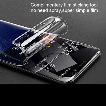 protective Hydrogel Film on for huawei y5 lite 2018 huaweii y 5 prime 2018 light y5 2017 ii 5y y5ii safety sheet film image