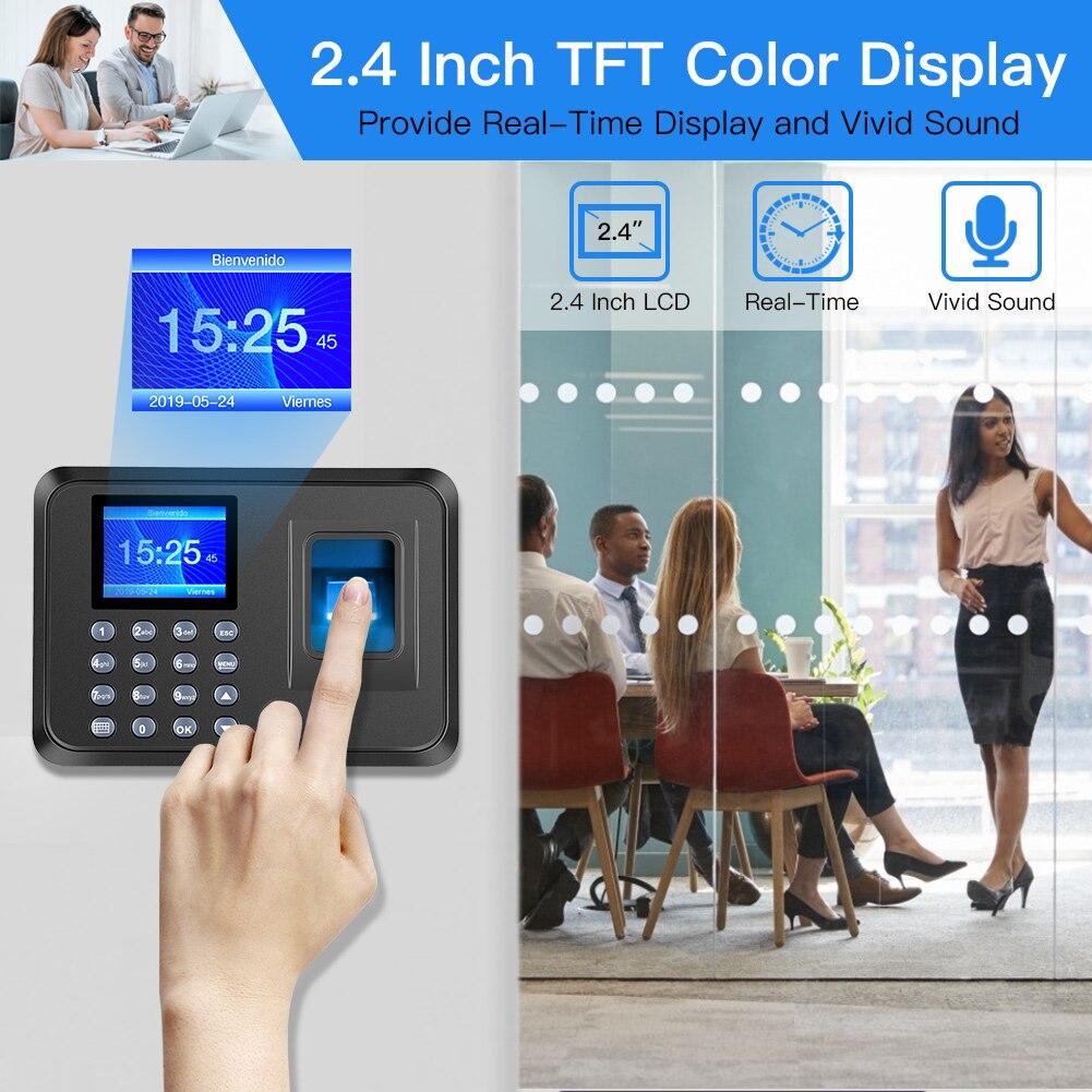 maquina do comparecimento da impressao digital biometrico 02