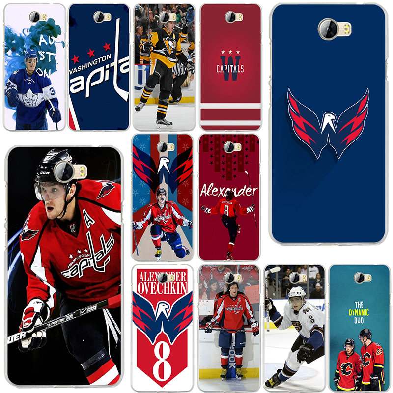 Alexander Ovechkin Hockey Soft Silicon Phone Case for Huawei P8 P9 P10 Lite Mate 10 Pro Y5 Y6 Y3 II Y7 Honor 6X 7X 9 Lite Shell(China)
