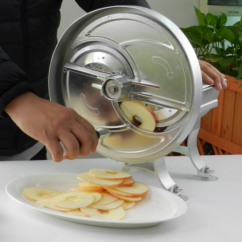 EB-1805A Household Manual Slicer Commercial Multifunctional Aluminum Alloy Hand Fruit Slicer Potato Lemon Slice Ground Meat