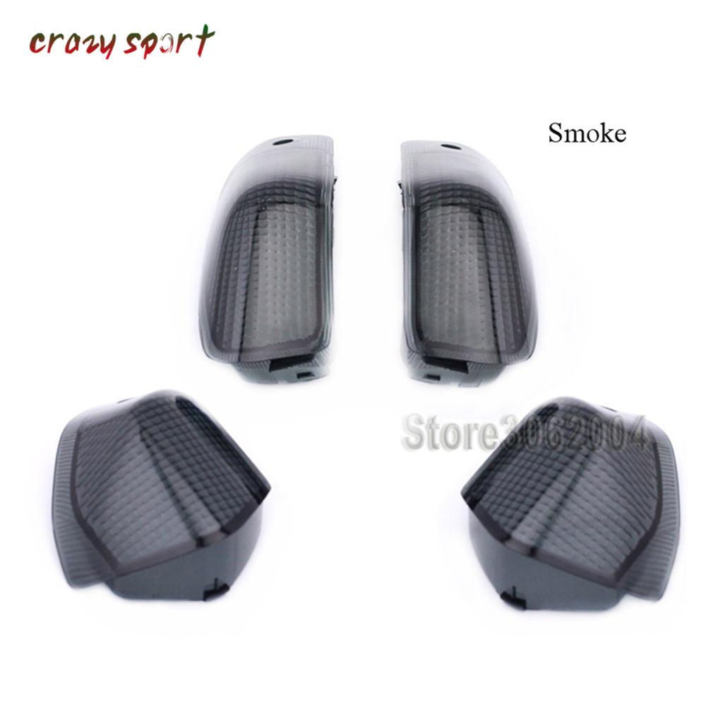 Front Rear Turn Signal Lamp Light Lens For KAWASAKI ZZR400 1993 2006  ZZR600 1993 2008 ZZR 400/600 Motorcycle Accessories|  - title=