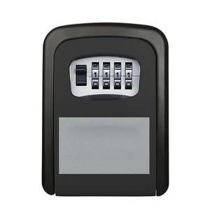 Key-Box-Storage Wall-Key Safe Deposit-Box Password Large with for Renovation