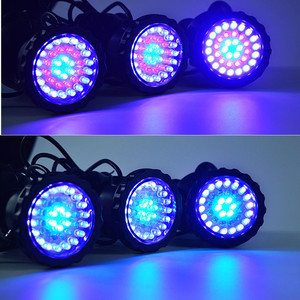 Image 5 - RGB havuz ışıkları su geçirmez akvaryum LED Spot ışık balık tankı gölet bahçe dekorasyon lambası uzaktan kumanda ile abd/ab /İngiltere/SAA tak